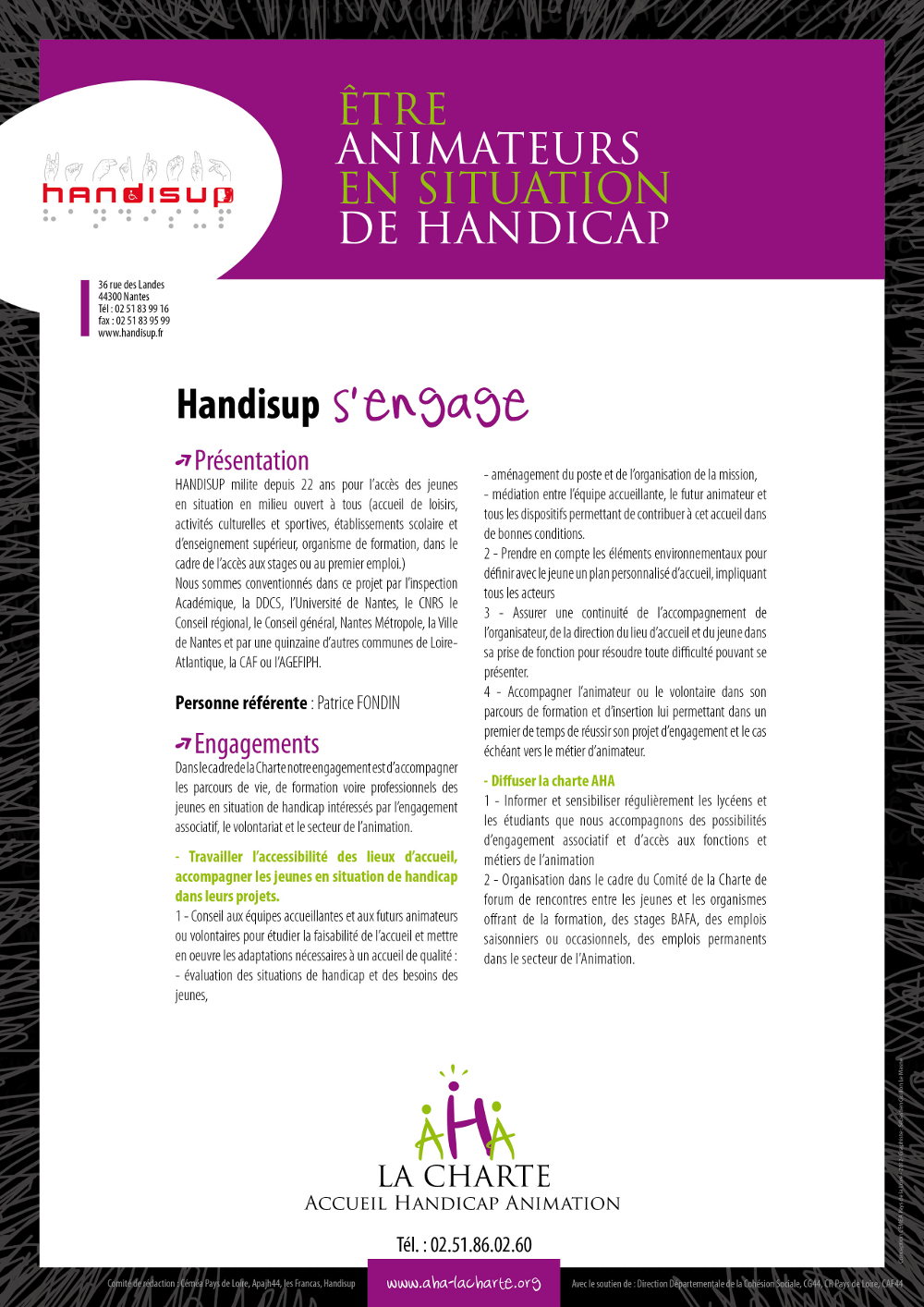 Engagements d'Handisup