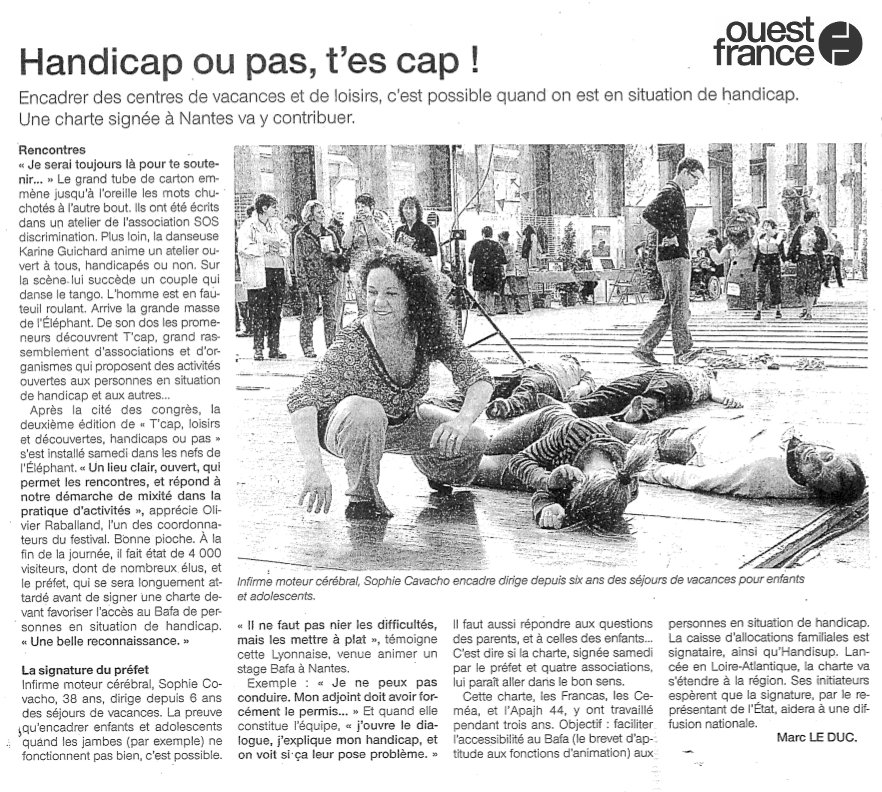 Articles Ouest-France - 24 avril 2010